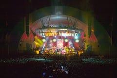 Sting che esegue al Hollywood Bowl recentemente rinnovato, Hollywood, California immagini stock libere da diritti