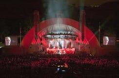 Sting, der am eben erneuerten Hollywood Bowl, Hollywood, Kalifornien durchführt Lizenzfreies Stockfoto