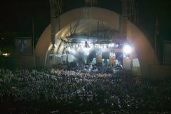 Sting, der am eben erneuerten Hollywood Bowl, Hollywood, Kalifornien durchführt Stockfoto