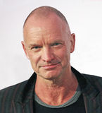 """Sting. English musician/philanthropist/environmental activist Sting, arrives on the red carpet for the premiere of """"Third Person,"""" at the 13th Annual Tribeca Stock Images"""