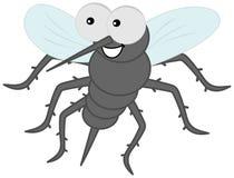 Sting komar z włosy Zdjęcie Royalty Free