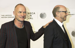 Sting and Paul Haggis Royalty Free Stock Images