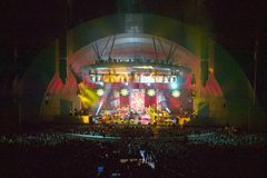 Sting performing at the newly renovated Hollywood Bowl, Hollywood, California Royalty Free Stock Images