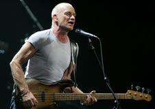 Sting Performs no concerto fotografia de stock