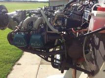 Sting rotax 912 flying farmers light aircraft microlight Royalty Free Stock Photo