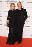 Sting, Trudi Styler Fotos de Stock Royalty Free