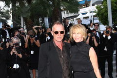 Sting and Trudie Styler Stock Images