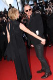 Sting and Trudie Styler Stock Photography