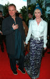 Sting, Trudie Styler Immagine Stock