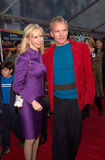 Sting,Trudie Styler Royalty Free Stock Images