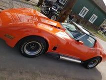 Stingray americano della corvetta dell'automobile del muscolo Immagini Stock