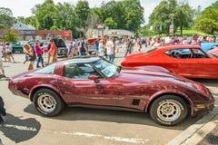 Stingray car purple Royalty Free Stock Photos