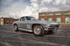 Stingray 1966 di Chevrolet Corvette Fotografia Stock Libera da Diritti