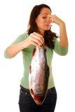 Stinkende vissen Royalty-vrije Stock Afbeeldingen