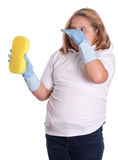 Stinky Cleaning Stock Photography