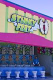 Stinky feet game at Santa Cruz Stock Image