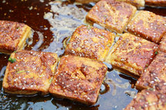Stinky tofu Royalty Free Stock Photos
