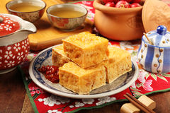 Stinky tofu Royalty Free Stock Images
