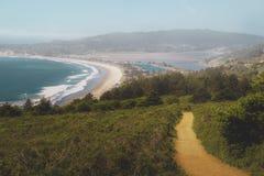 Stinson beach in Northern California Stock Photos