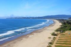 Stinson strand, Kalifornien Arkivfoto