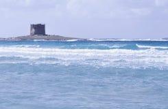 stintino пляжа Стоковое Изображение RF