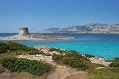 Stintino in Sardinia, Italy. Royalty Free Stock Photos