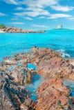 Stintino seaboard arkivfoton