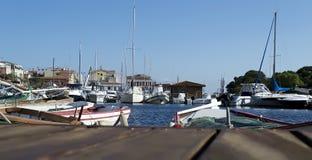 Stintino wharf Stock Image
