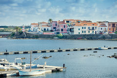 Stintinohaven, Sardinige, Italië royalty-vrije stock fotografie