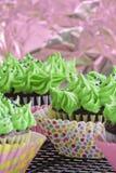 Stip cupcakes Stock Afbeeldingen