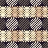 Stip naadloos patroon Geometrische Achtergrond De kleurrijke ballen Royalty-vrije Stock Fotografie