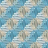 Stip naadloos patroon Geometrische Achtergrond De kleurrijke ballen Stock Foto's