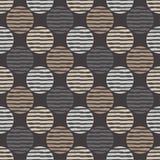 Stip naadloos patroon Geometrische Achtergrond De kleurrijke ballen Royalty-vrije Stock Foto