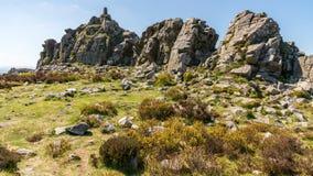 Stiperstones National Nature Reserve, Shropshire, England, UK stock images