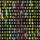 Stippen naadloos patroon Stock Foto