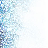 Stipple elegant blue gradient background image. Can be used for both print and web page Stock Photos