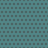 stiptextuur Naadloos oppervlaktepatroon met klassiek geometrisch ornament Herhaald cirkelsmotief De achtergrond van de bel stock illustratie