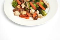 stir еды fry Стоковые Изображения RF