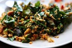 Stir жаря цыпленка и vegetabele в вке Стоковое Изображение