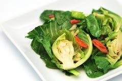Stir-зажаренные смешанные овощи стоковые изображения rf