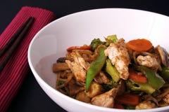 stir ручек салфетки fry chop Стоковое фото RF