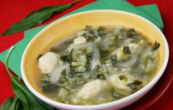 stir супа Стоковая Фотография