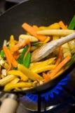stir 3 fry Стоковые Фото