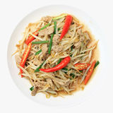 Stir-Fried Bean Sprouts Stock Images