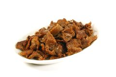 Stir Fried Beef Stock Photo