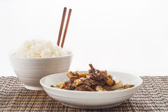 Stir fried Beef Stock Images