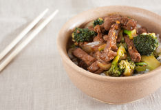 Stir-Fried Beef Royalty Free Stock Image