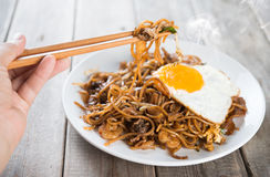 Stir fried Char Kway Teow Royalty Free Stock Photography