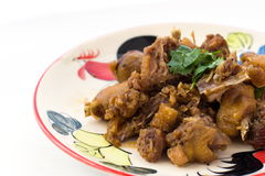 Stir-Fried chicken Stock Images