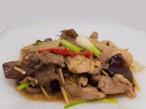 Free Stir Fried Chicken With Ginger Stock Photos - 90400873